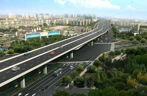 秋石快速路解放东路上匝道开通 过江能省9分钟